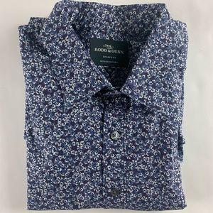 Rodd & Gunn Sports Fit Floral Button Front Shirt